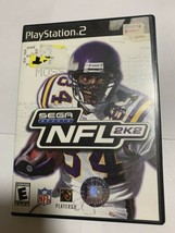 NFL 2K2 (Sony PlayStation 2, 2001) PS2 - Complete - $4.95