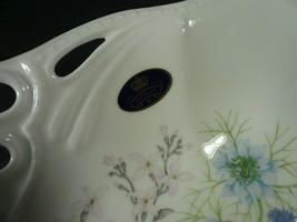 New In Box Rare Aynsley Wild Tudor Pierced Tray image 2