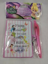 Disney Fairies Diary With Lock & Pen New - $4.95