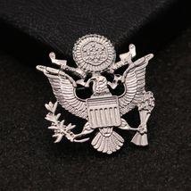 New Brooch Pin Men Lapel Suit Stick Collar European And American Militant Badge image 4