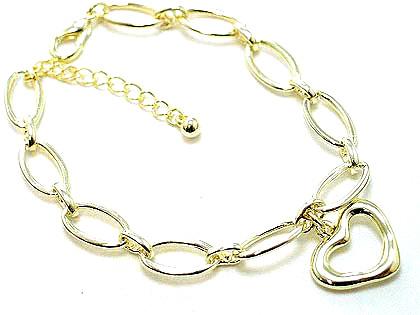 Br48 gold hollow bracelet