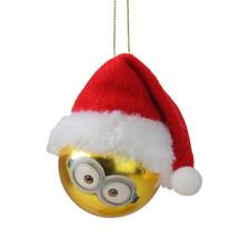 "Kurt Adler Despicable Me Minion Stuart Santa Hat Gold Christmas Ornament 2.5"" - $12.61"