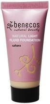 BENECOS Natural Light Fluid Foundation- SAHARA. Shipping Is Free From Th... - $13.07