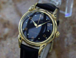 Benrus 1950s Gold Plated Swiss Made Mens Vintage Manual Dress Watch LA92 - $939.82