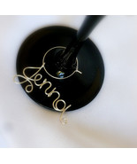 Small Wedding Party Favors, Personalized Wine Charm, Bridesmaid, MOH Gif... - $75.00