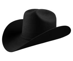 Men's Cowboy Hat El General Texana 10X Horma Durangense Color Black Wool - €55,33 EUR
