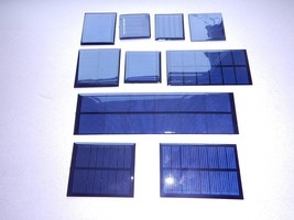 MINI SOLAR PANELS  multiple choice listing, 1v,2v,3v,4v sizes one flat d... - €0,86 EUR+