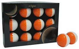 Nitro Eclipse Golf Balls (White/Tangerine) - $28.92