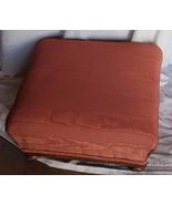 Beautiful Vintage Pink Mole Fabric Covered Ottoman - VGC - SOFT & PRETTY... - $69.29