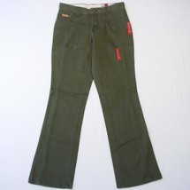Tommy Hilfiger Olive Green Stretch Denim Jeans Women's Junior Sizes NWT $49 - $29.99