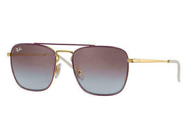 Ray Ban RB3588 RB/3588 9060/I8 Gold/Bordeaux RayBan Sunglasses 55mm - $89.09