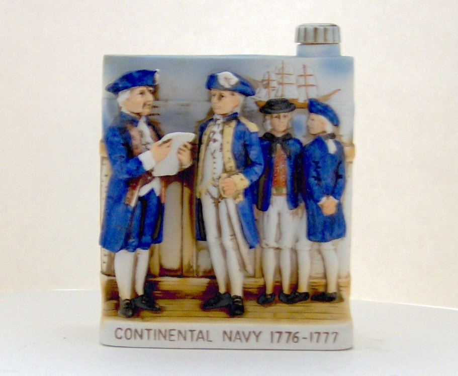 Continental Navy 1776-1777 Decanter - W.A. Lacey  Other