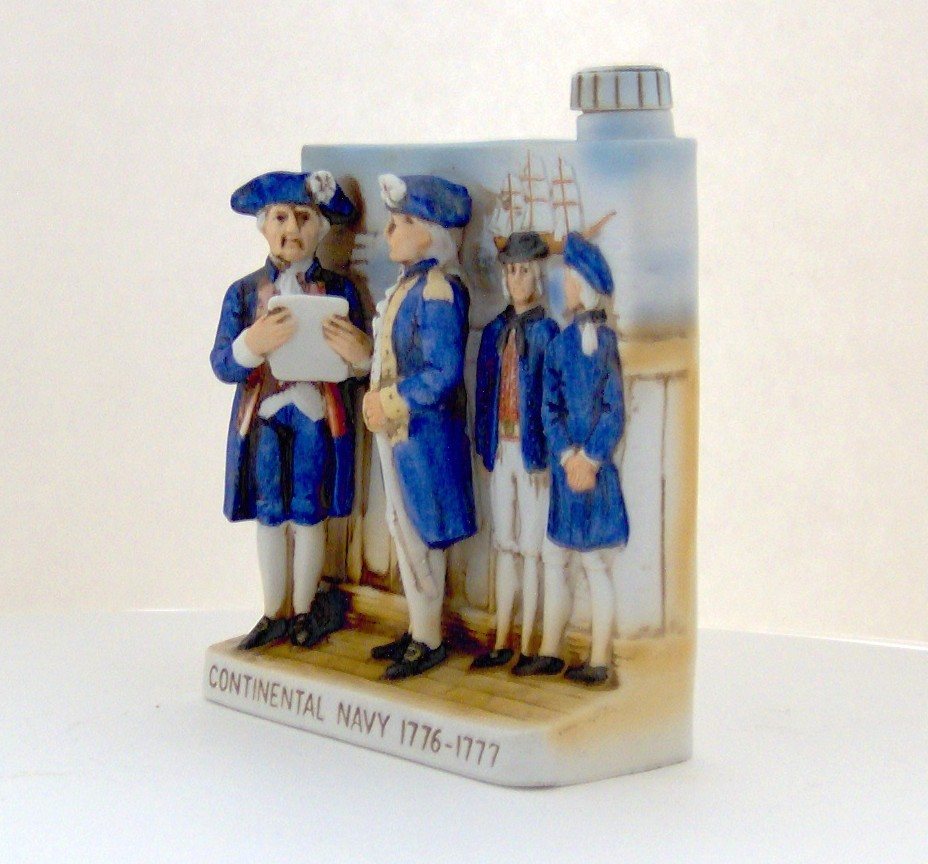Continental Navy 1776-1777 Decanter - W.A. Lacey