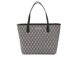 NEW Lauren Ralph Lauren Helston CLASSIC TOTE BAG PURSE BLACK RED POLO LR... - $93.46