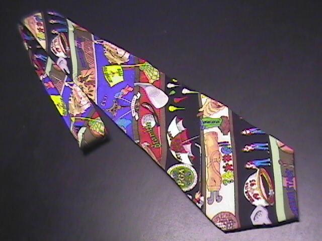 Tie nicole miller golf 1993 01