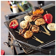 CAILLU BBQ Grill Mat - 17 x 14 inches Set of 2 - multipurpose can be used for ba