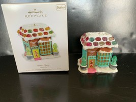 Hallmark Keepsake Ornament Flower Shop Noelville #6 In Series 2011 - $12.50