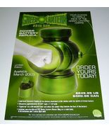 Green Lantern Abin Sur DC Comics Direct power battery replica promo post... - $40.00