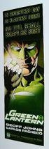2005 GREEN LANTERN BLACKEST NIGHT PROMO POSTER/BANNER - $40.00