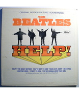 'Help' Beatles vintage mono vinyl lp record 1965 - $89.50