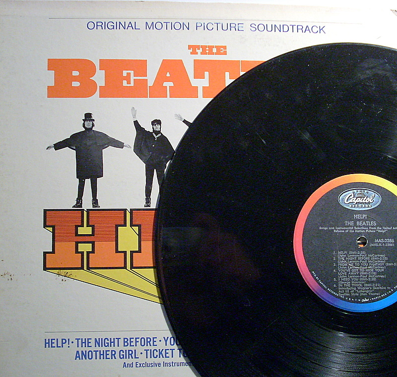 Help Beatles Vintage Mono Vinyl Lp Record 1965 Records