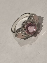 Avon Legacy Riches Ring Pink Size 7    - $9.00