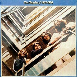 'The Beatles 1967-1970' double LP record album