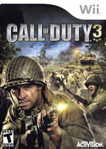 Call of Duty 3 (Nintendo Wii) Game US Release Brand NEW! - $19.99