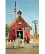 Knott's Berry Farm Ghost Town Little Red School House  Postcard Buena Pa... - $5.00