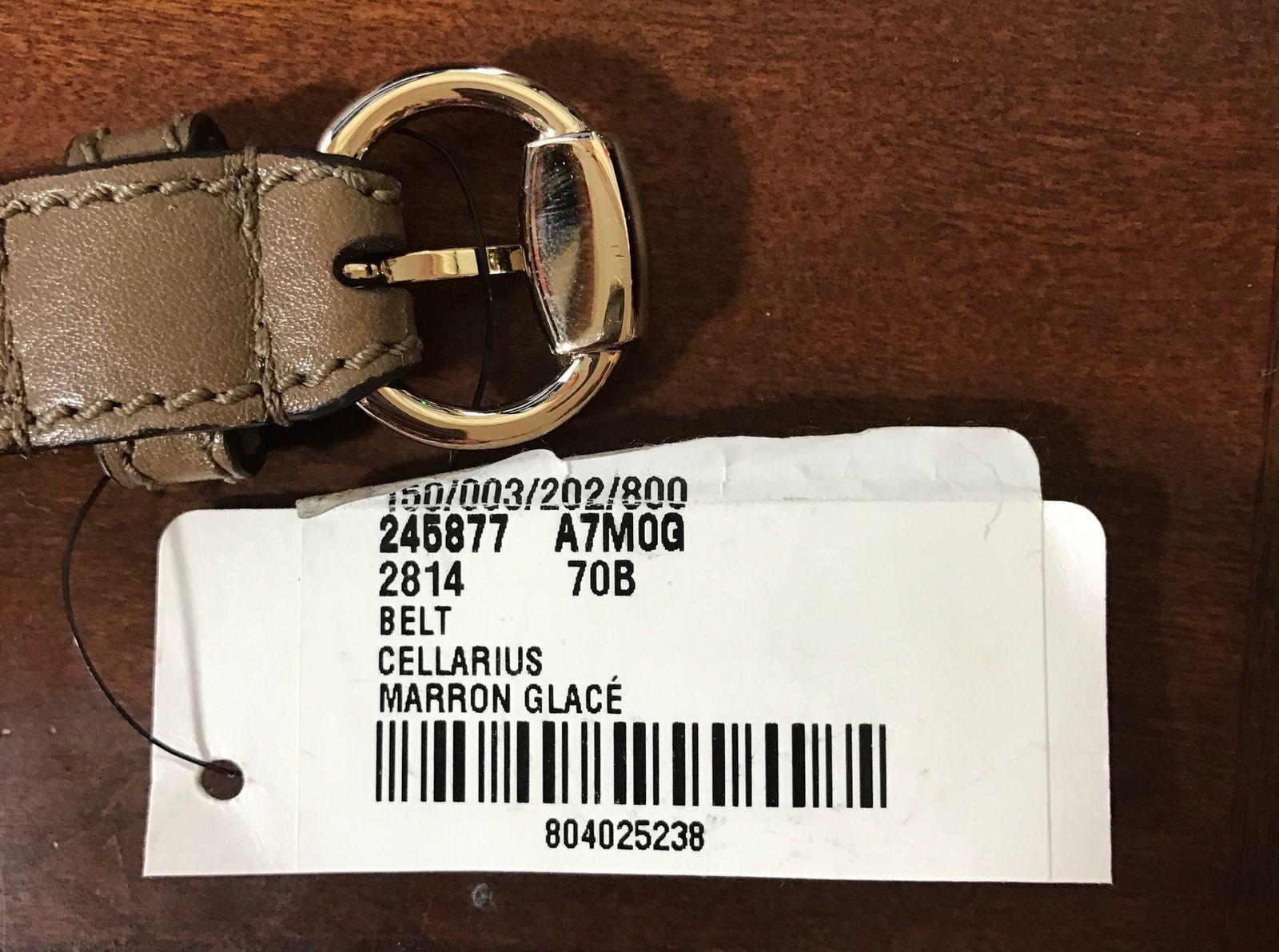 04c33fe147648 NWT GUCCI 245877 Horsebit Waist Leather and 50 similar items