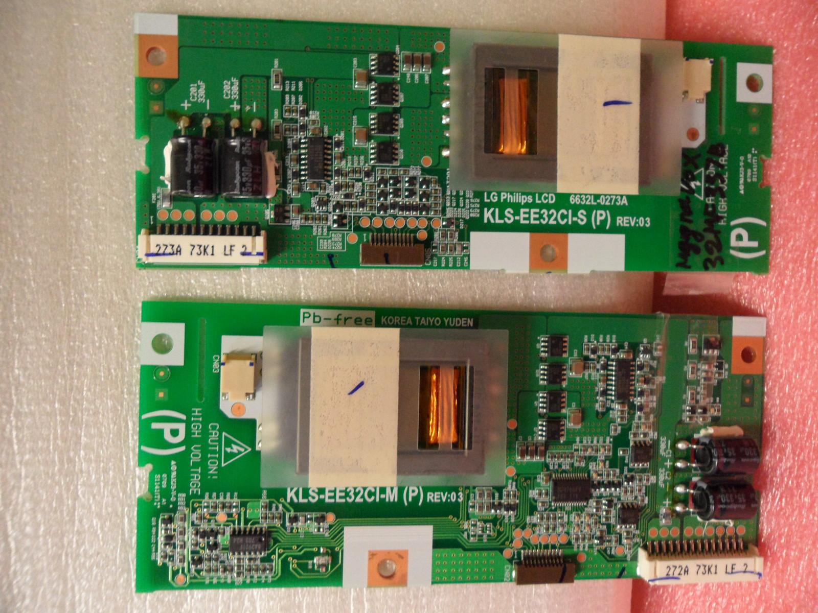 Philips 6632L-0272A & 6632L-0273A Backlight Inverter Boards - $24.95