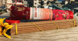 Guru Padmashambava Brocade Tube Tibetan Incense Stick - $3.96