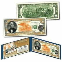1882 Series Thomas Hart Benton $100 Gold Certificate designed on Real $2... - $13.98