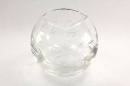 "LENOX FULL LEAD CRYSTAL 5"" CUT FLOWER VASE EUC Marked with Lenox - $19.99"
