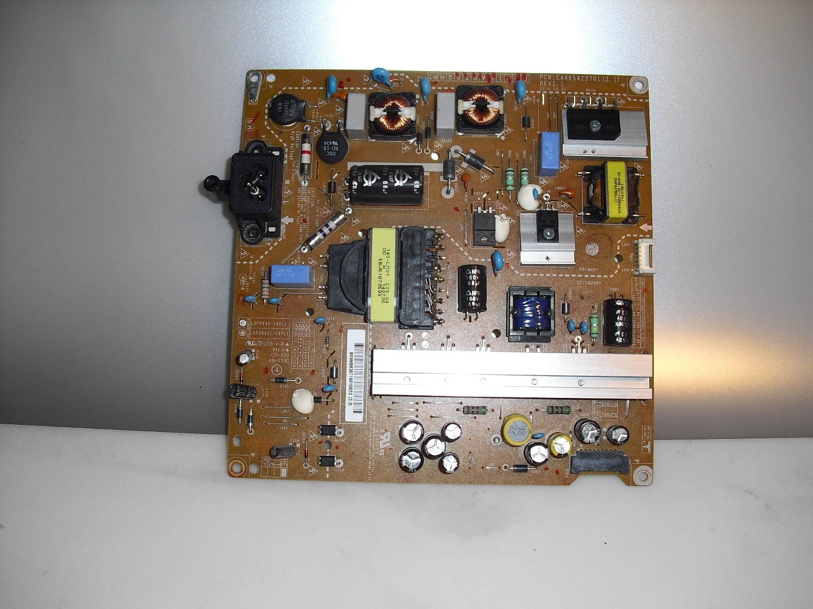 Primary image for eax65423701 2.1  rev  2.1   power  board   for  Lg  42Lb5600