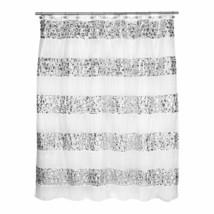 Popular Bath Shower Curtain, Sinatra Collection, White - $39.59