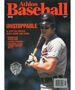 Cal Ripken, Jr unsigned Baltimore Orioles Athlon Sports 1992 MLB Basebal... - $10.00