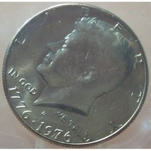 1976-D Kennedy Bi-Centennial Half Dollar MS65 In the Cello #0239 - $5.34