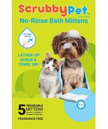 No Rinse Pet Wipes Great for Pet Bathing, Pet Grooming, and Pet Washing ... - $9.93