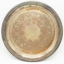 """Vintage Wm. Rogers Argent Plaque 12 """" Portion Plateau #161 - $14.83"""