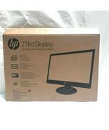 "HP 21KD 21"" LED FULL HD Monitor 1920 x 1080 60Hz 5ms (GTG) VGA DVI-D - $96.66"