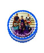 Disney Descendants party decoration round edible party cake topper cake ... - $7.80