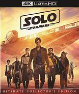 Solo A Star Wars Story (4K Ultra HD + Blu-ray, 2018) - $19.95