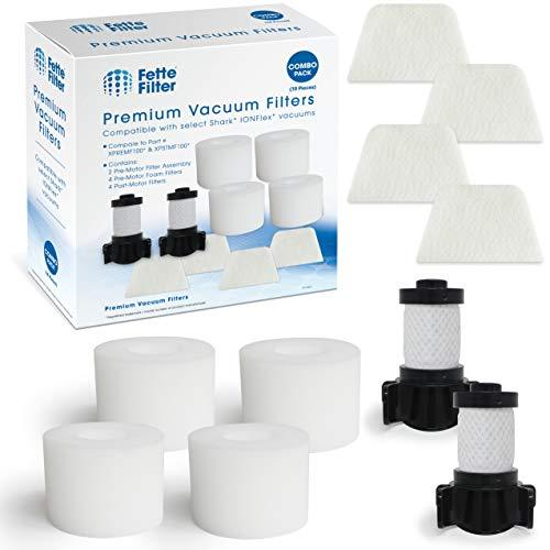 Fette Filter - Vacuum Filters Compatible with Shark ION Flex DuoClean X30 X40. C