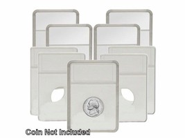 BCW -  Display Slab with Foam Insert-Combo, Nickel White, 5 pack - $5.94