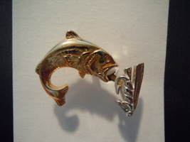 Vintage Swank Fish & Tackle Tie Tack - $5.99