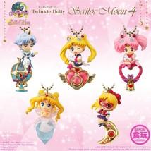 "BANDAI Twinkle Dolly Sailor Moon 4 ""Super Sailor Chibi Moon & Crystal Ca... - $9.21"