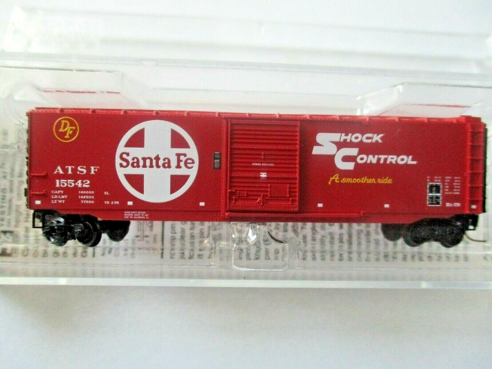 Micro-Trains # 50500432 Atchison, Topeka & Santa Fe 50' Standard Boxcar Z-Scale