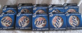 """Lot 10 Boxed 12 Miller Lite 4"""" Round Coasters Officially Licensed Pulp B... - $40.00"""