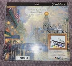 Thomas Kinkade Paint by Number Kit Painter Of Light 2004 Unused RoseArt Set - $19.79
